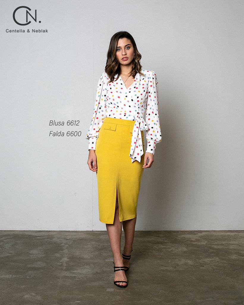 blusa 6612 - falda 600