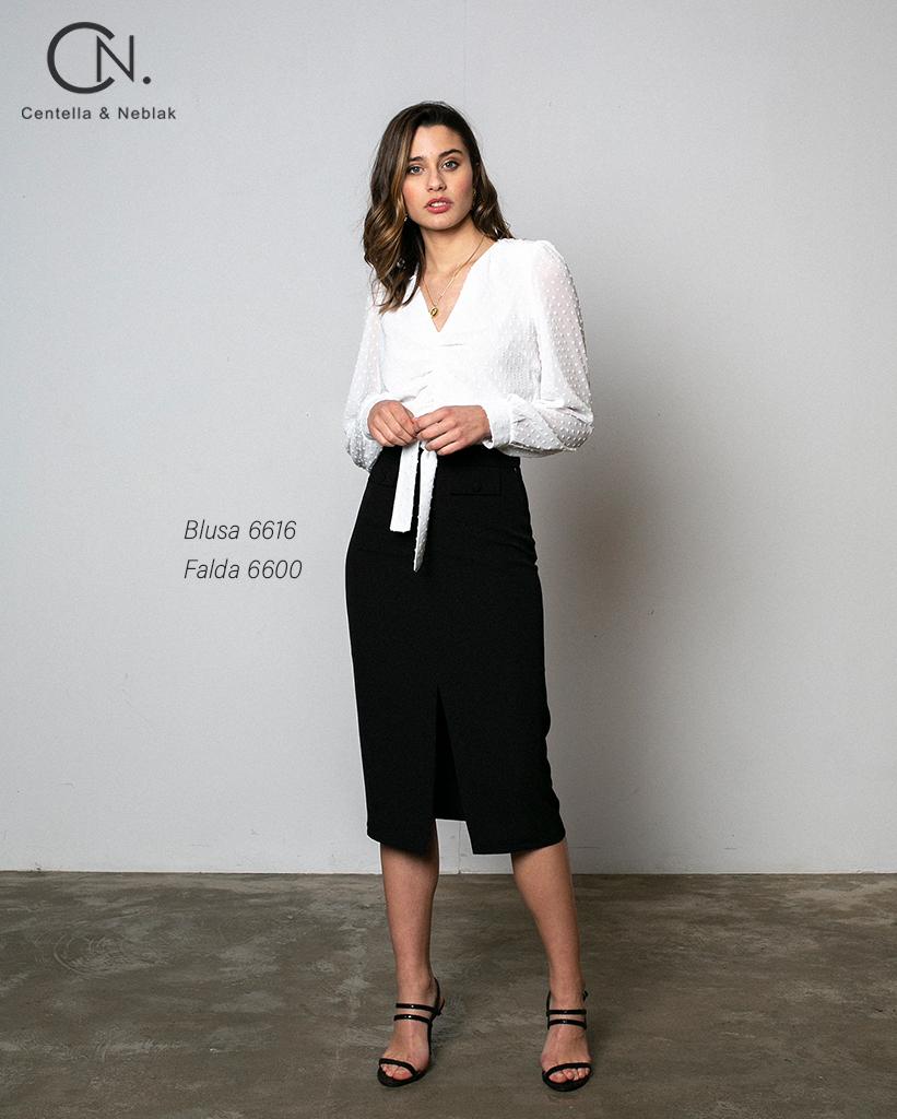 blusa 6616 - falda 6600