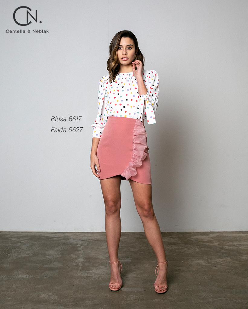blusa 6617 - falda 6627