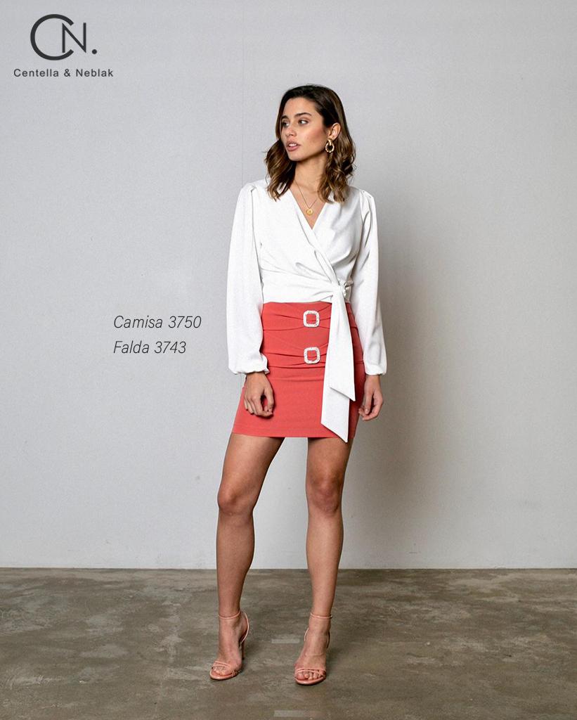 camisa 3750 - falda 3743