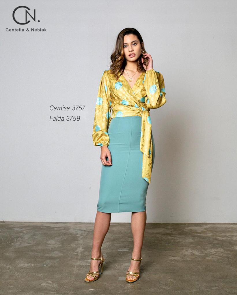 camisa 3757 - falda 3759