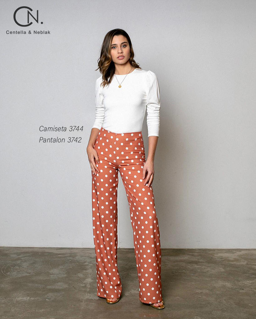 camiseta 3744 - pantalon 3742