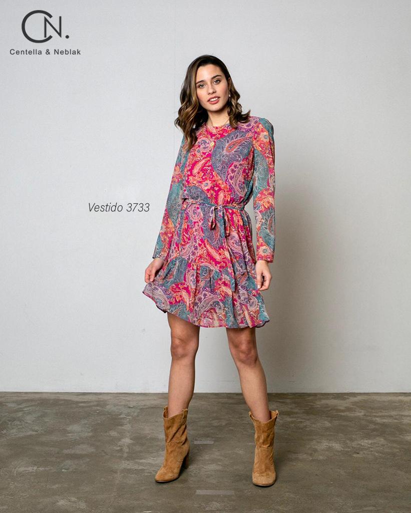 vestido 3733