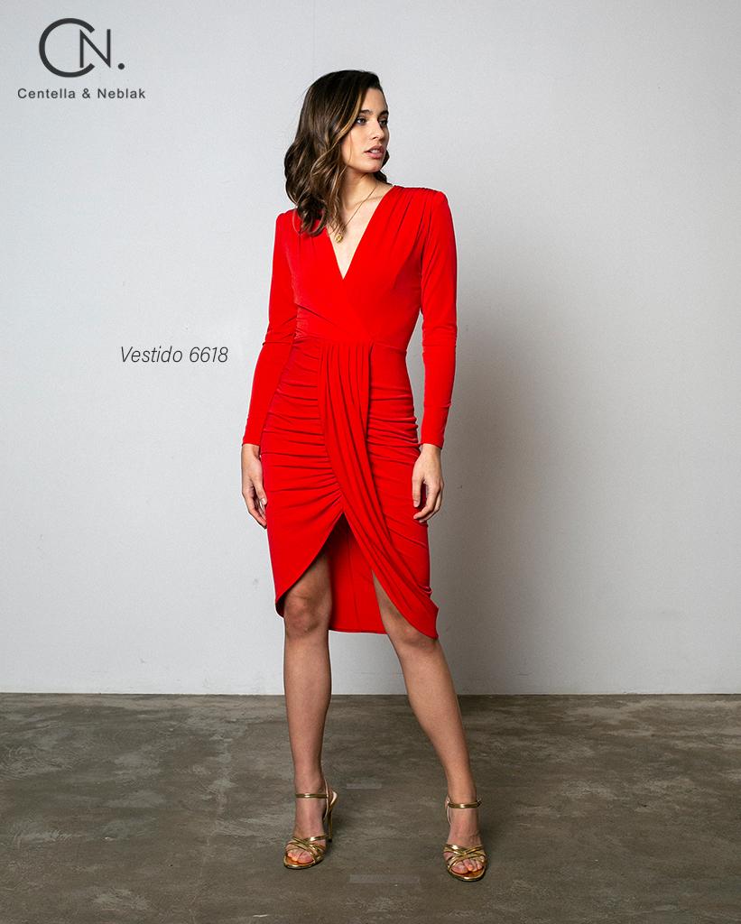vestido 6618