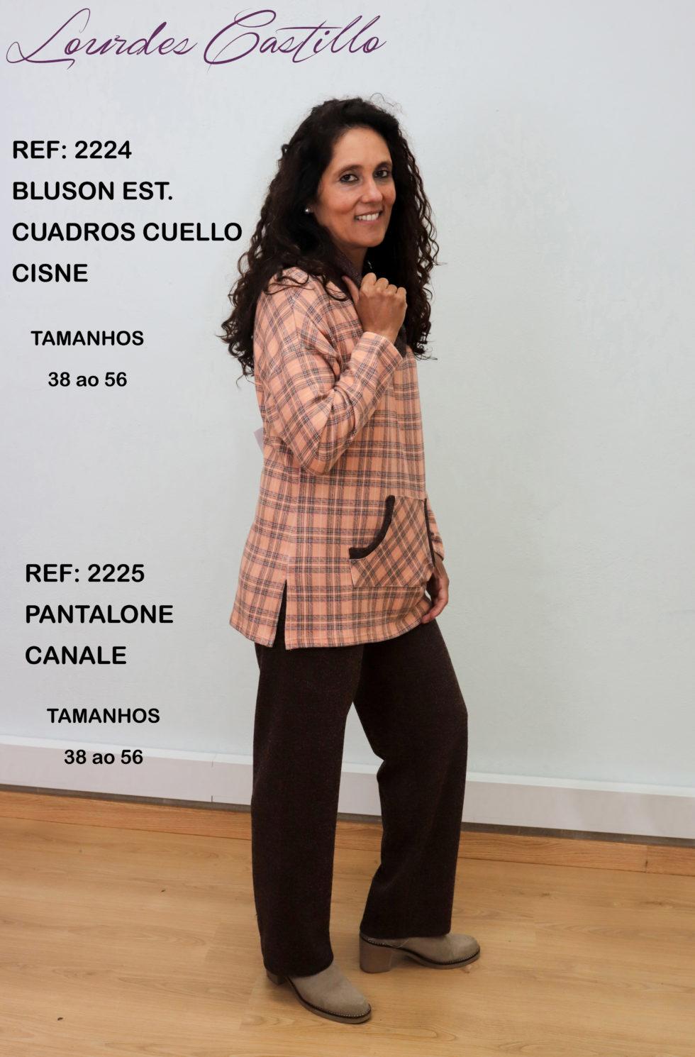 2224 + CALÇA 2225